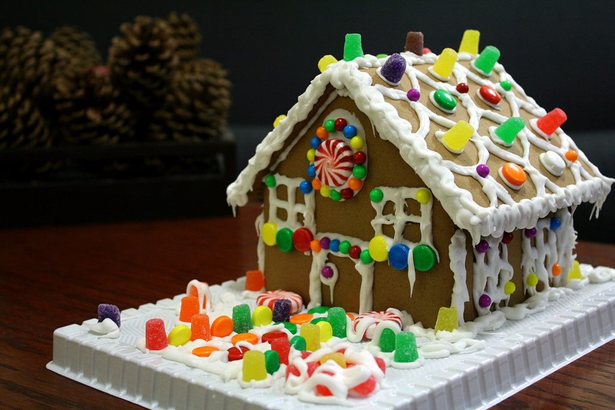 Gingerbread houses are typically more fun to make than to eat.