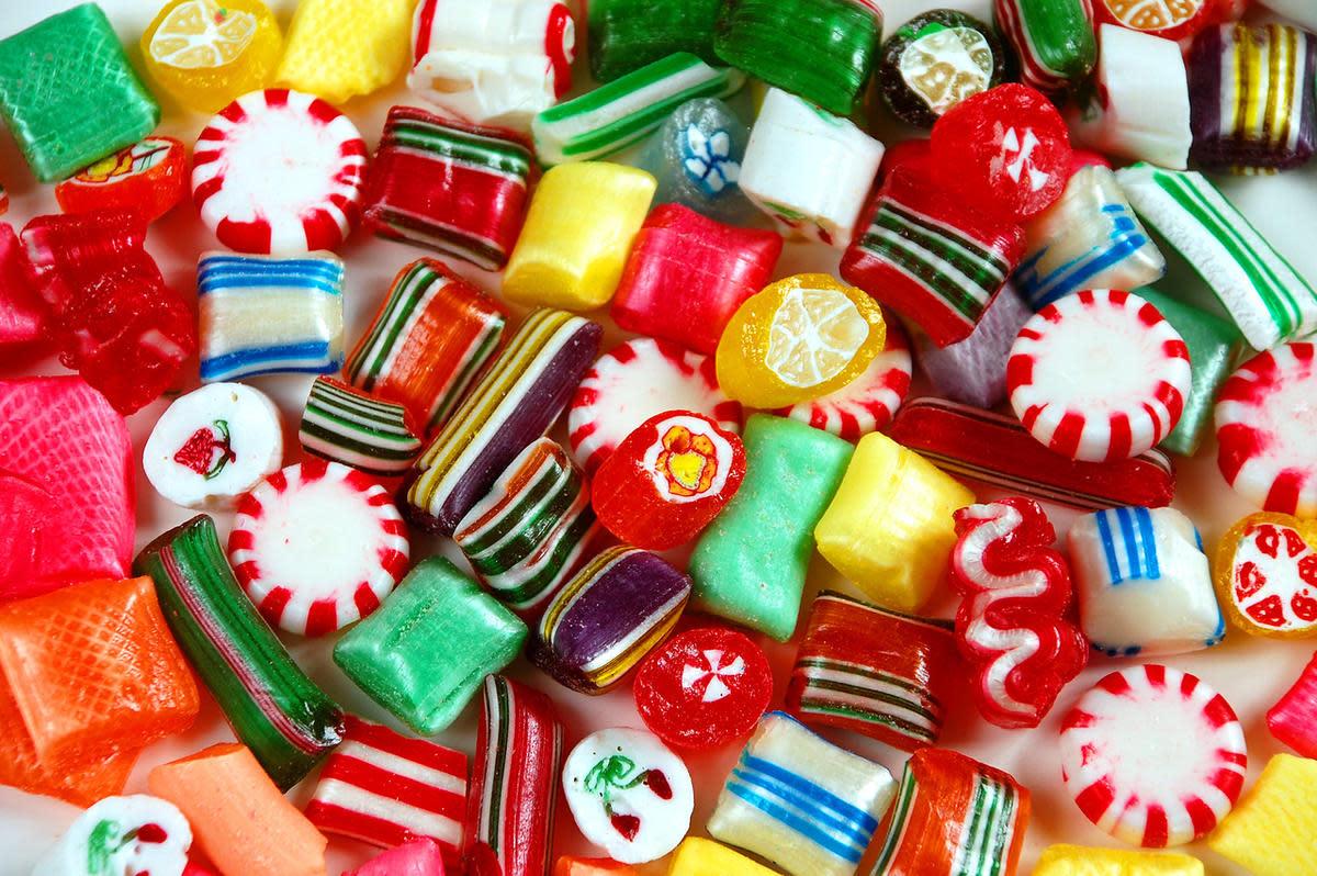 Hard Christmas Candy