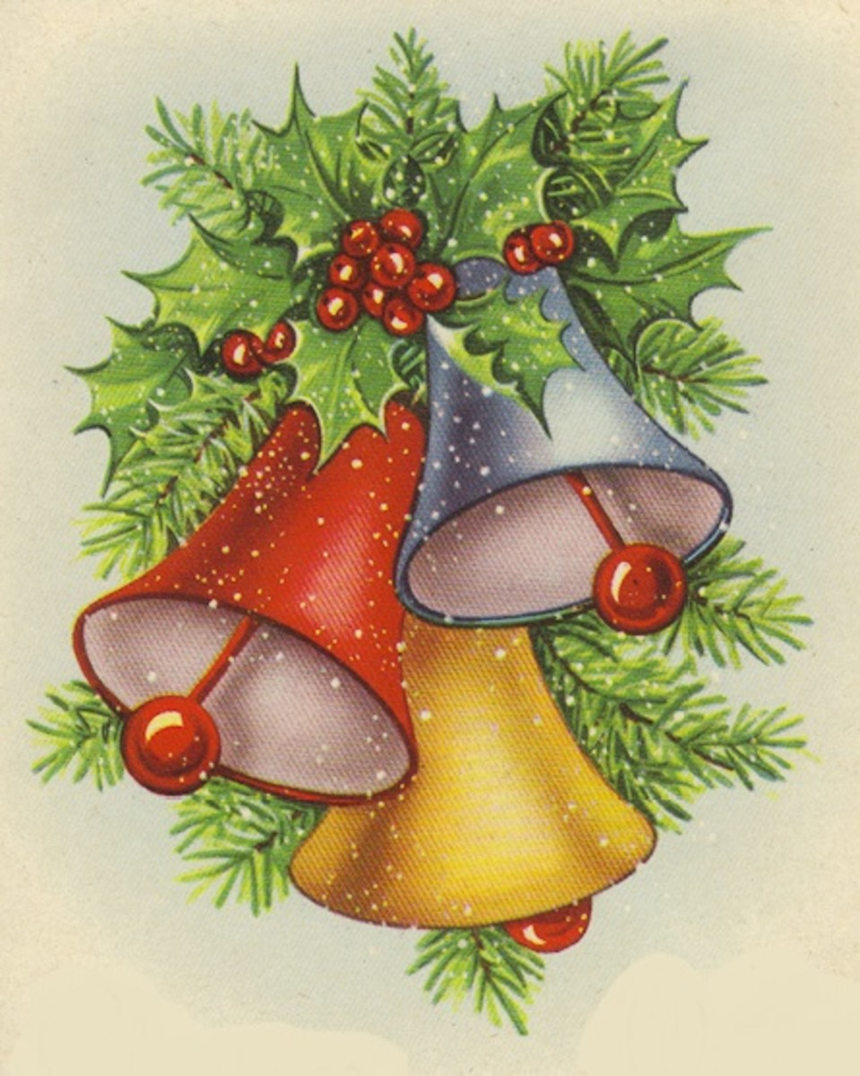 Bells are definitely a festive addition to Christmas! The songs Jingle Bells and Carol of the Bells mention these little Christmas jingles.