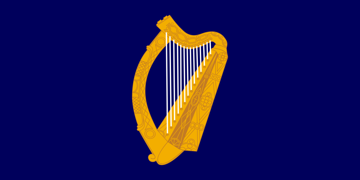 Flag of the President of Ireland.