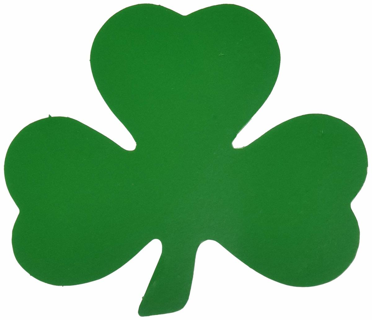 What does the clover represent?