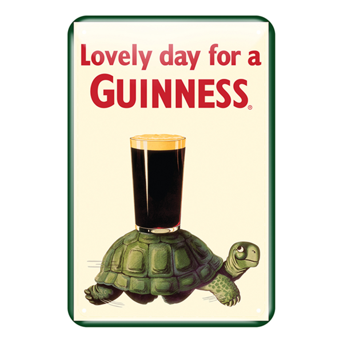 Many people associate Guinness with Saint Patrick's Day.