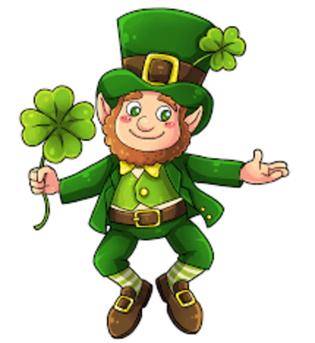 Does wearing green make you invisible to leprechauns?