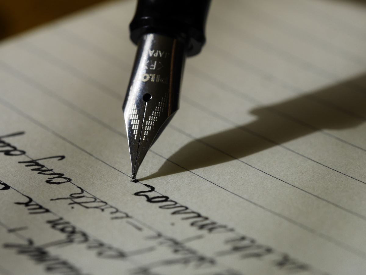 Write something from the heart.