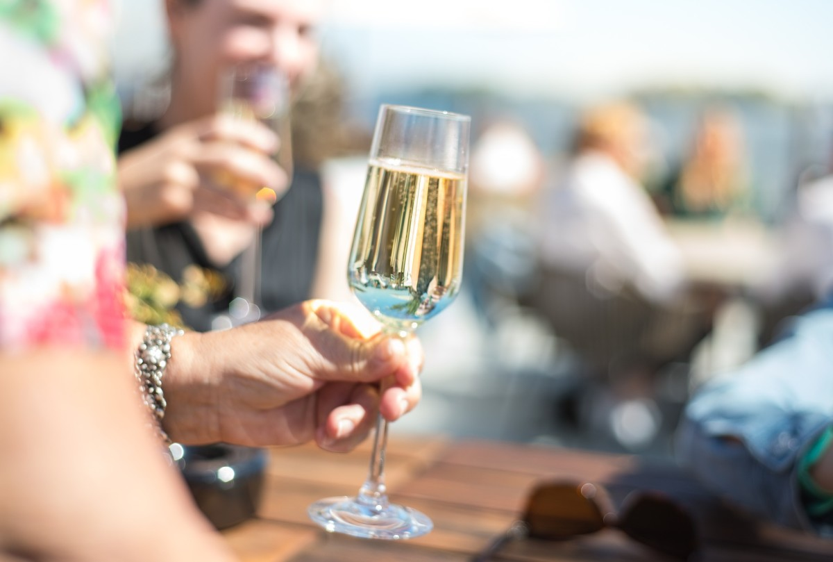 Don't forget to end your speech with a cheers to the happy couple. This is especially important if you are the first to speak.