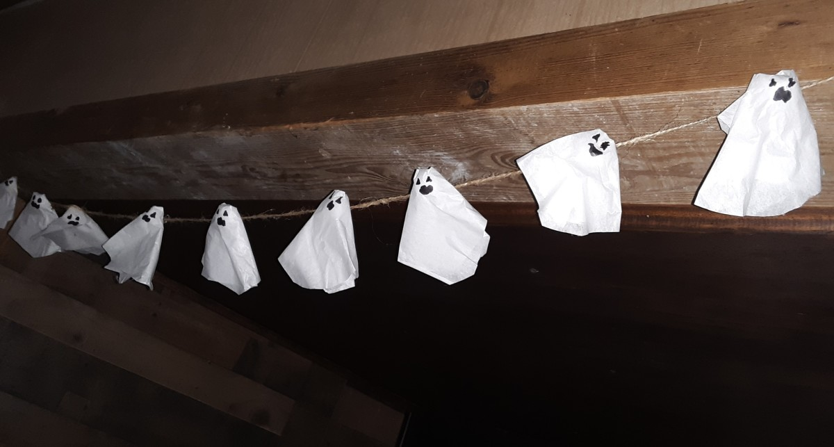 Little ghosts hanging around the house
