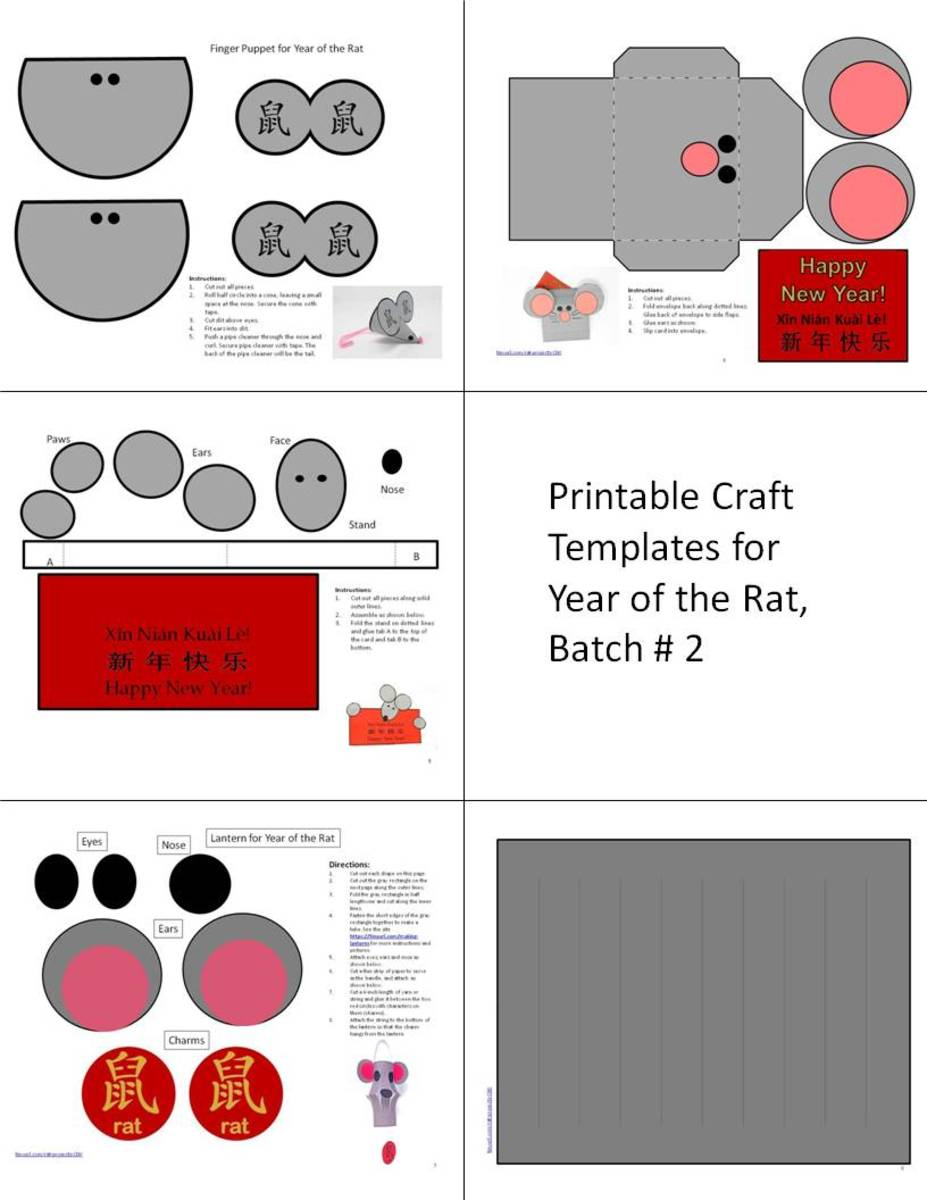 "Here is a photo which shows the craft templates available through the ""Printable Template, Batch #3"" link."