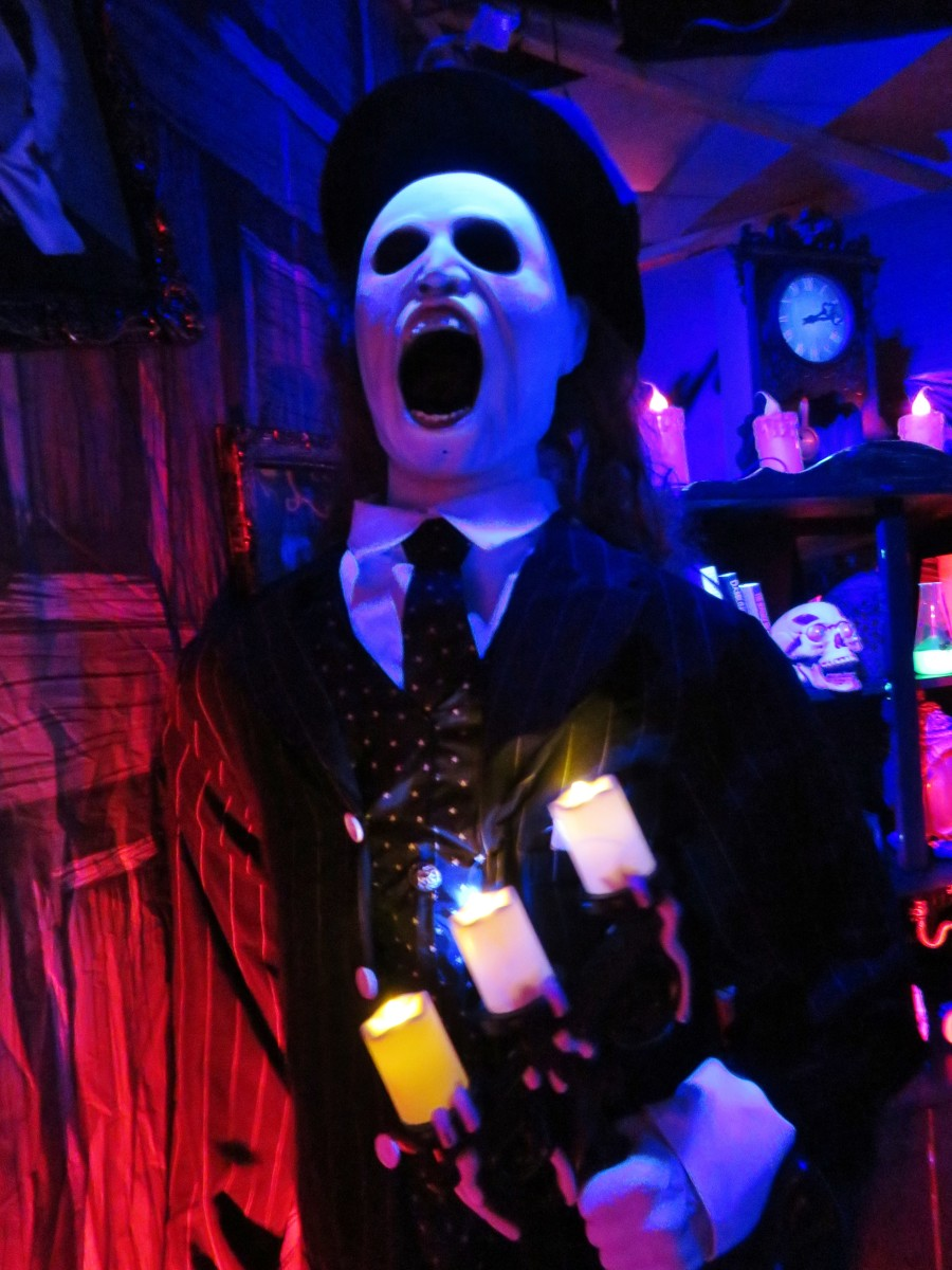 Spooky things happen at the National Museum of Funeral History haunted house.