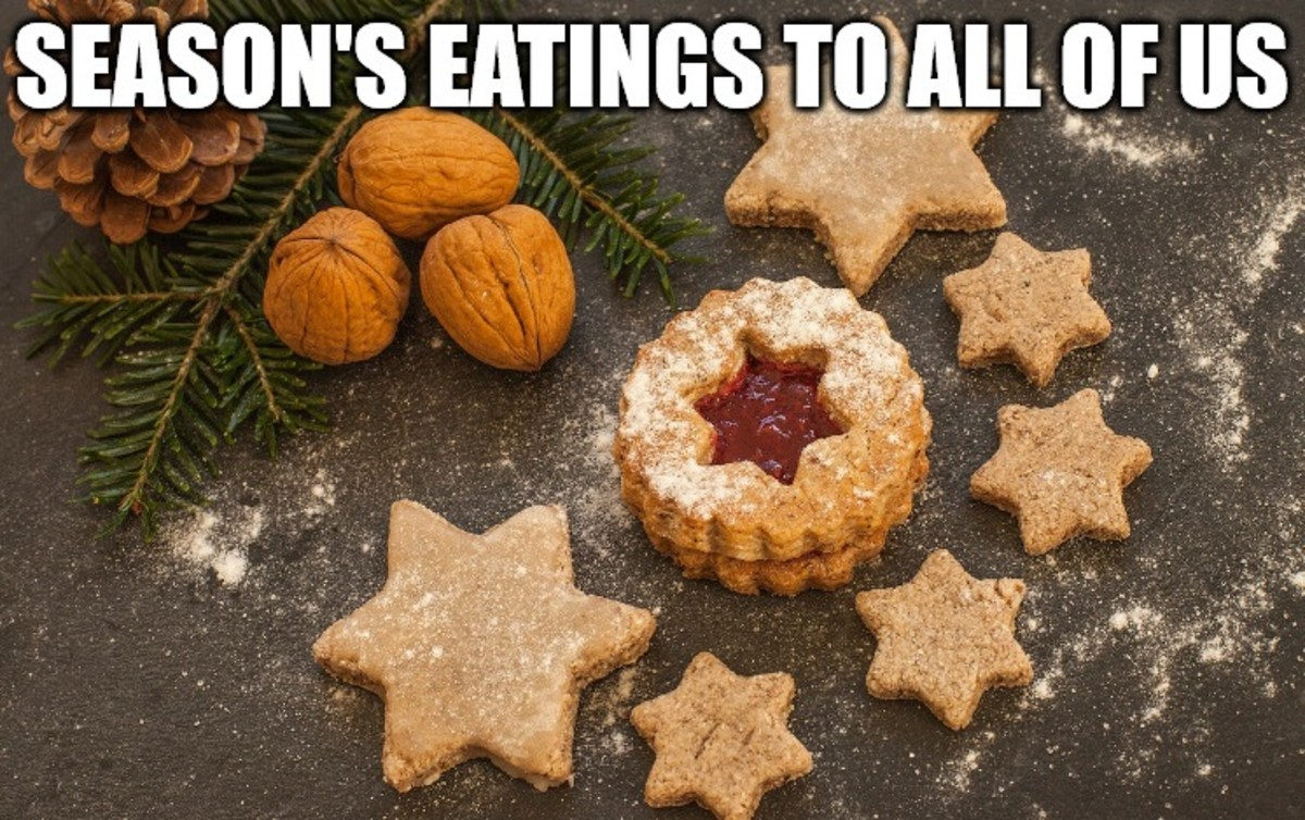 Season's eatings to all of us!