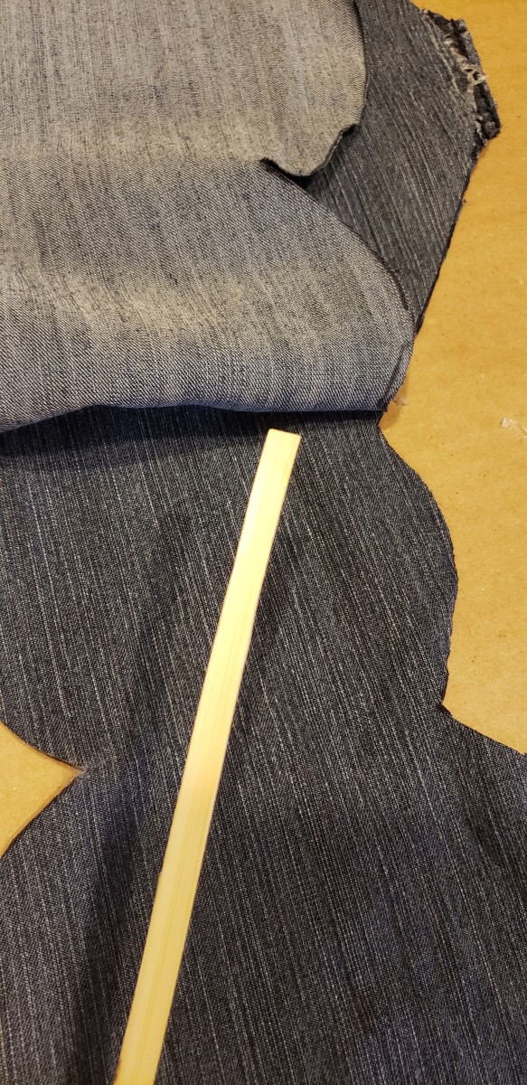 Use a crafting stick to check that your seams are secure.