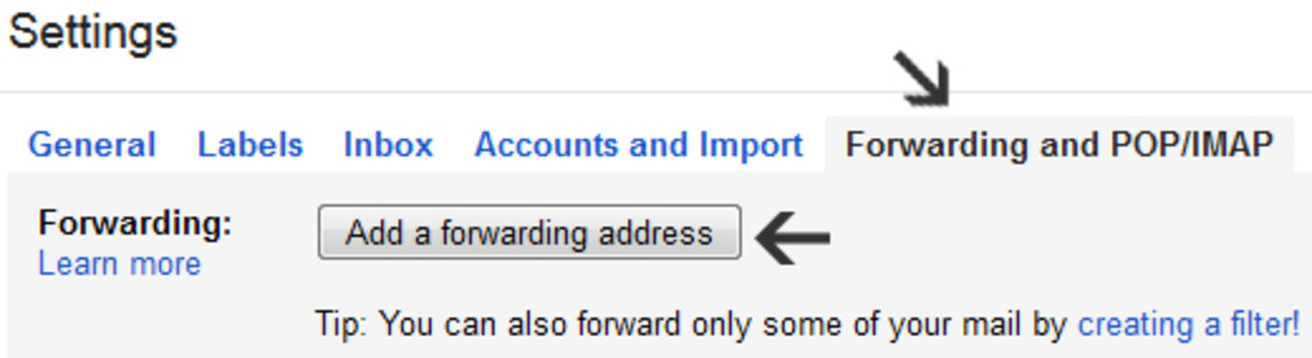 Here's how to forward a Gmail account.