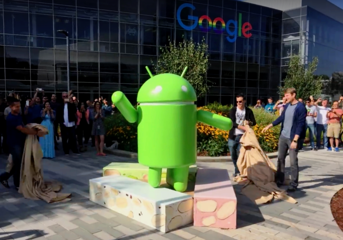 Google unveil Android 7, Nougat at Google Campus, June 30, 2016