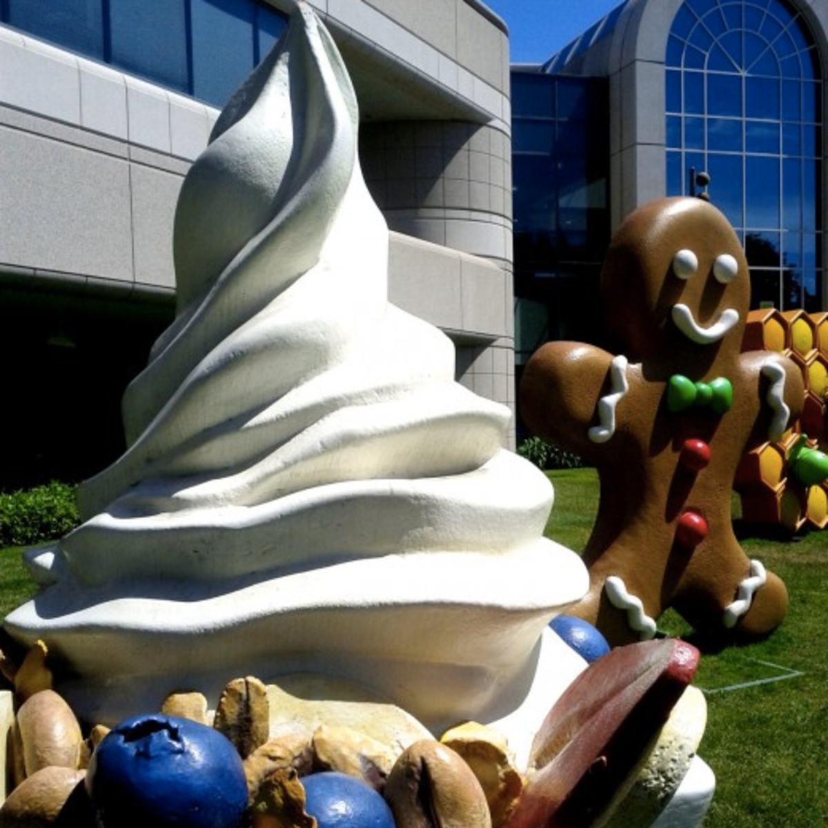 The Android froyo on Google's campus