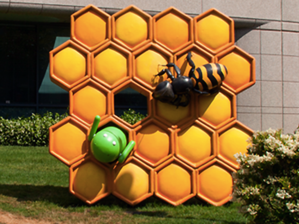 The Android honeycomb on Google's campus
