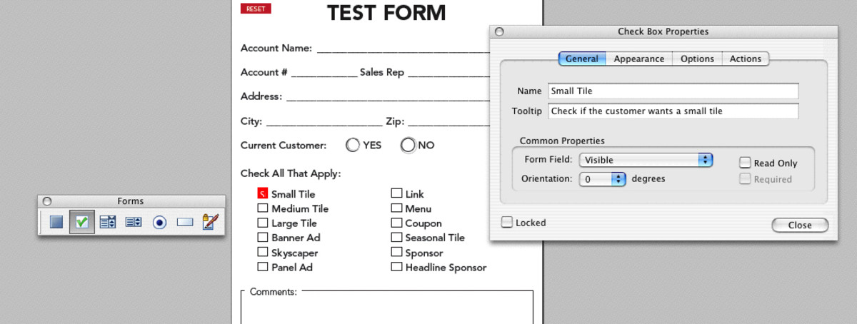 How To Make Interactive PDF Forms in Adobe Acrobat | TurboFuture