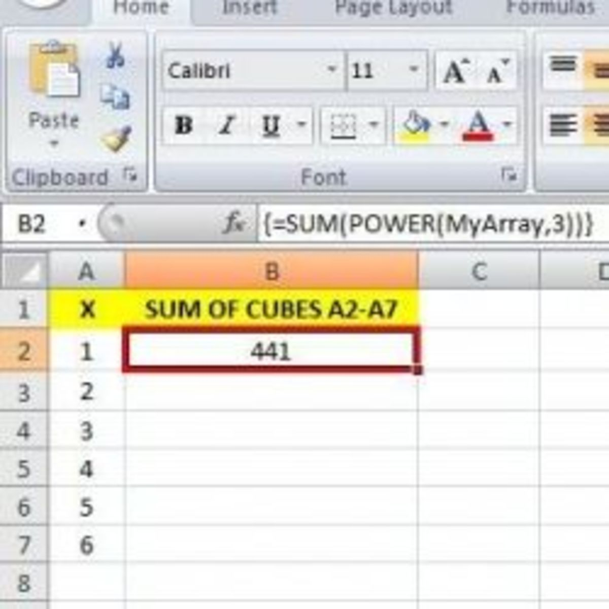 How to Simplify Your Calculations in Excel Using Array
