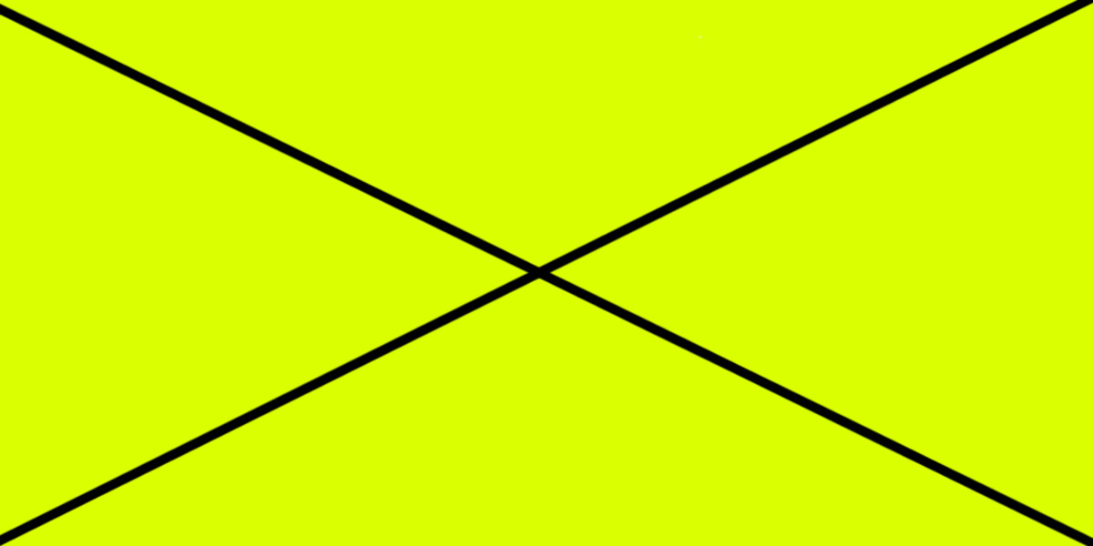 GREEN-YELLOW 85% (R) : 100% (G) : 0% (B) This colour example is crossed through because we have now, I think, gone beyond what can be described as a shade of green. With 85% intensity red, this is now a shade of yellow