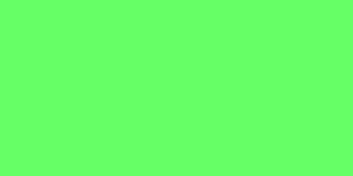 PALE GREEN 40% (R) : 100% (G) : 40% (B)