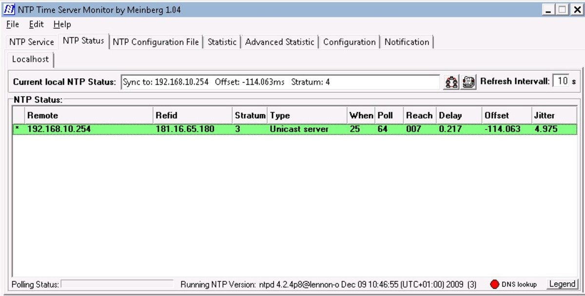 The Meinberg NTP client provides much more accuracy than the built in Windows Time Service.
