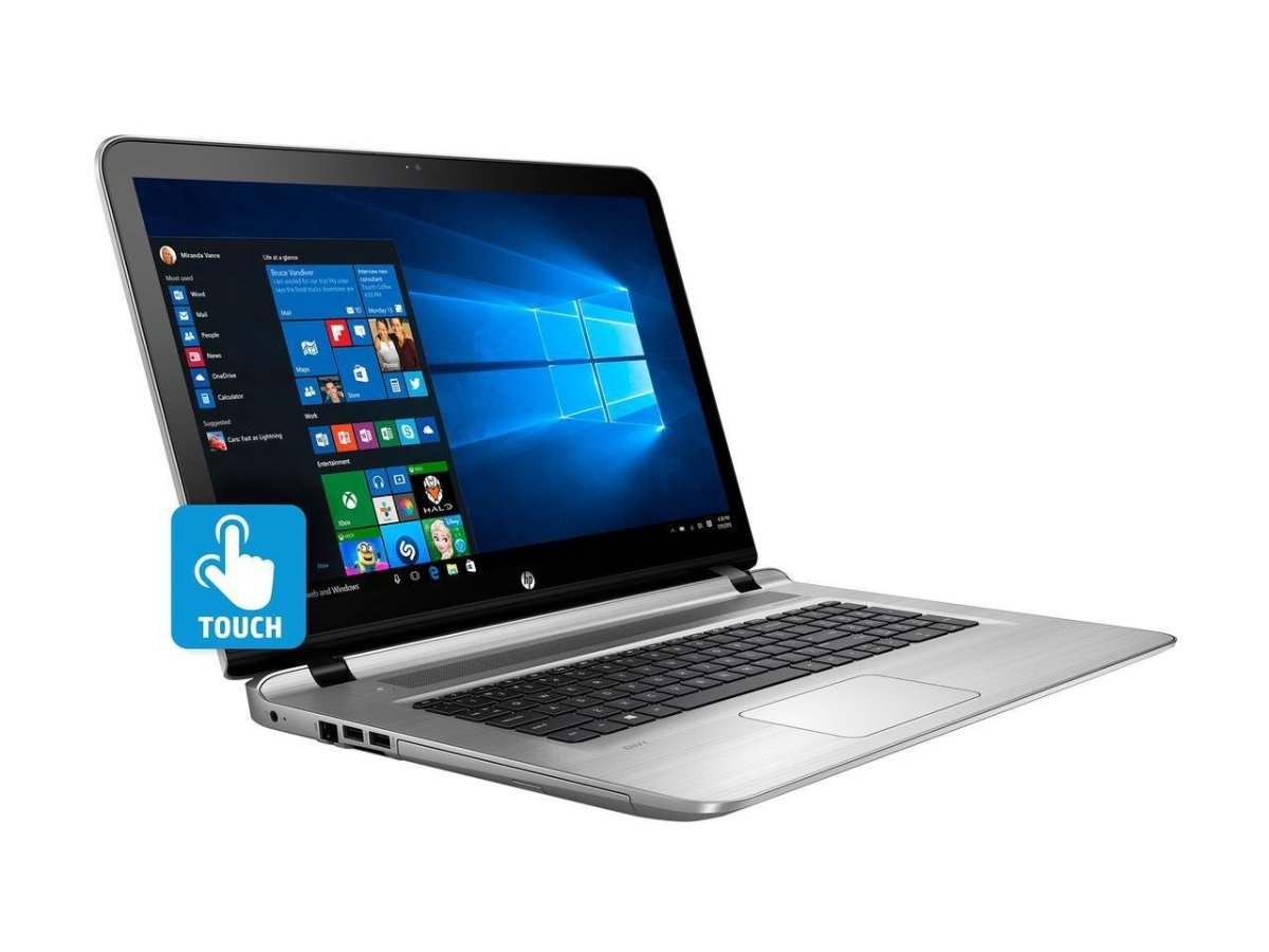 2017 Model HP Envy-17t comes with a responsive touchscreen display along with 4GB dedicated NVIDIA GF940MX graphics processor