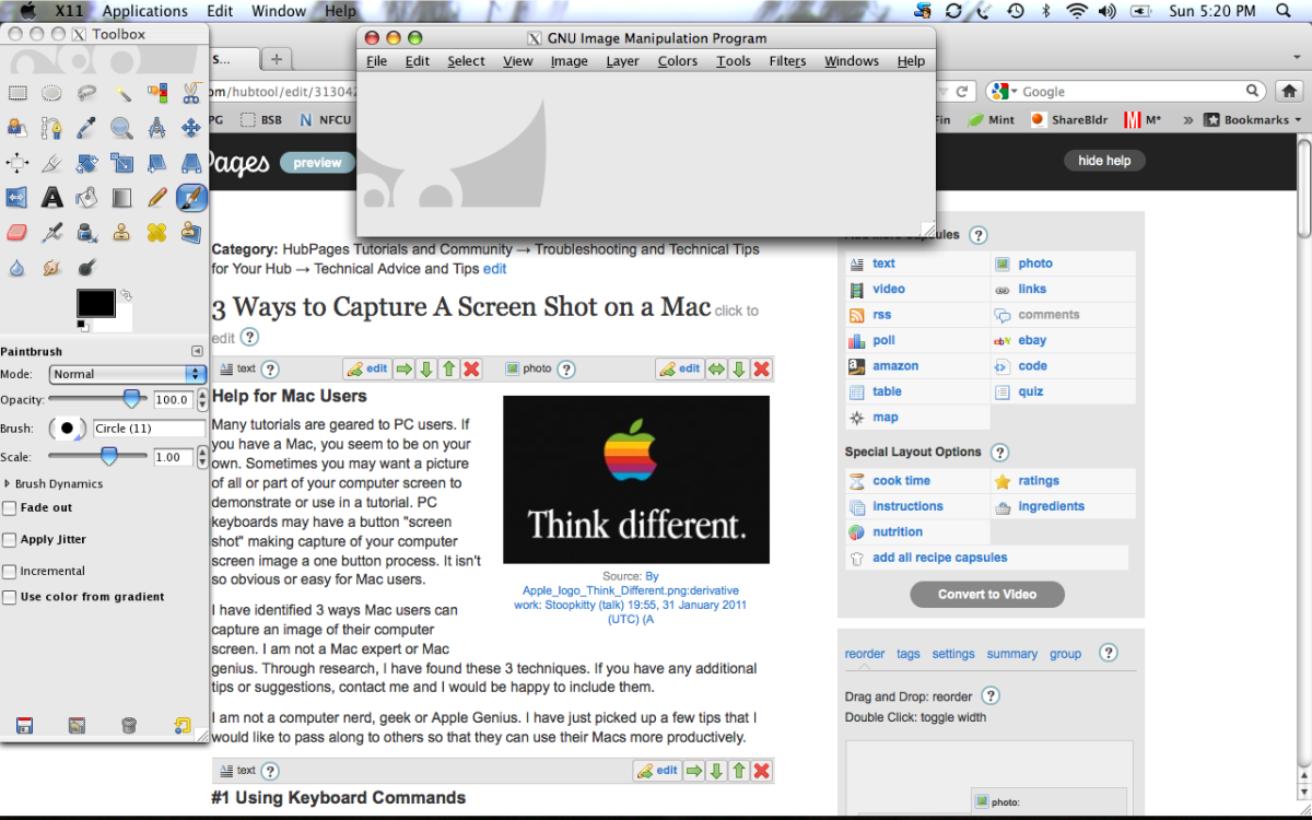 how to take a screenshot of entire page on mac
