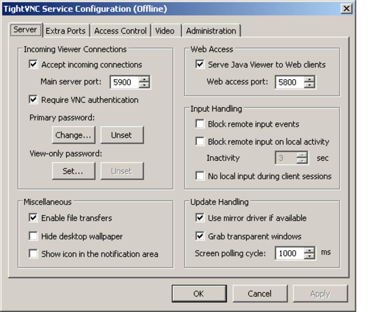 Vnc Server Windows 7