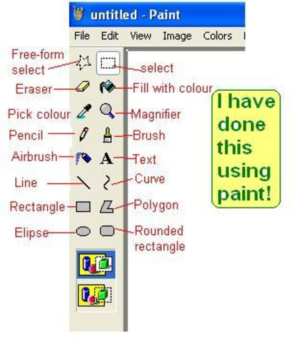 MS Paint Tool Box