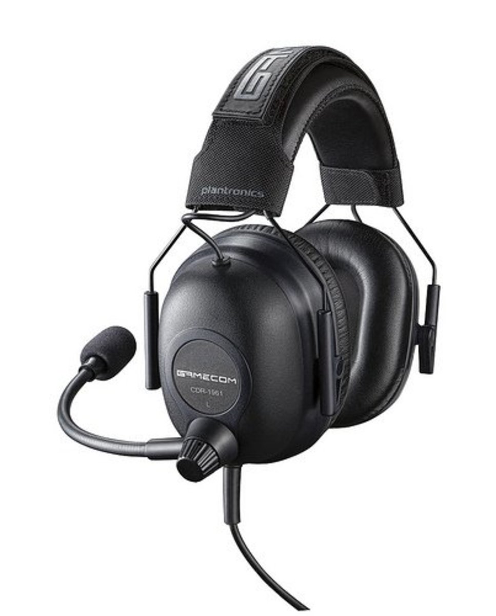 Gaming headsets are designed to keep the microphone close to your mouth.