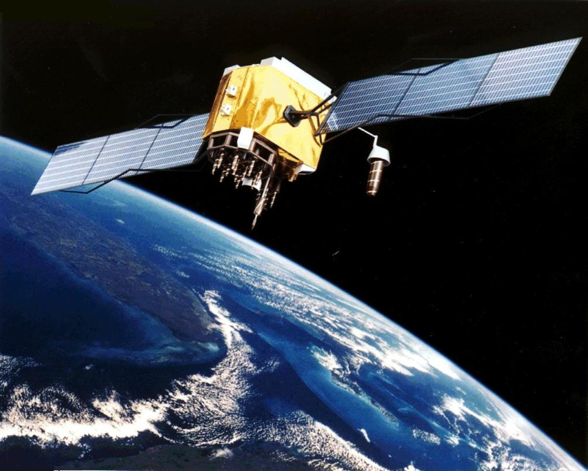 Satellite systems provide global communications.