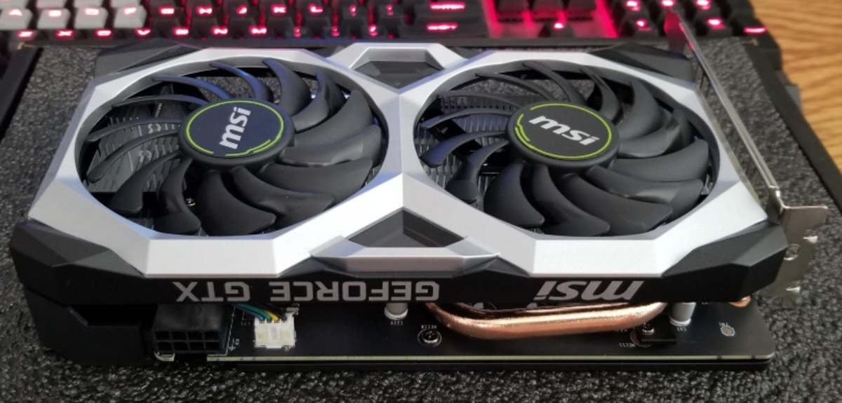 Something like the GTX 1650 Super is a very affordable card for most budget to mid-range builds.