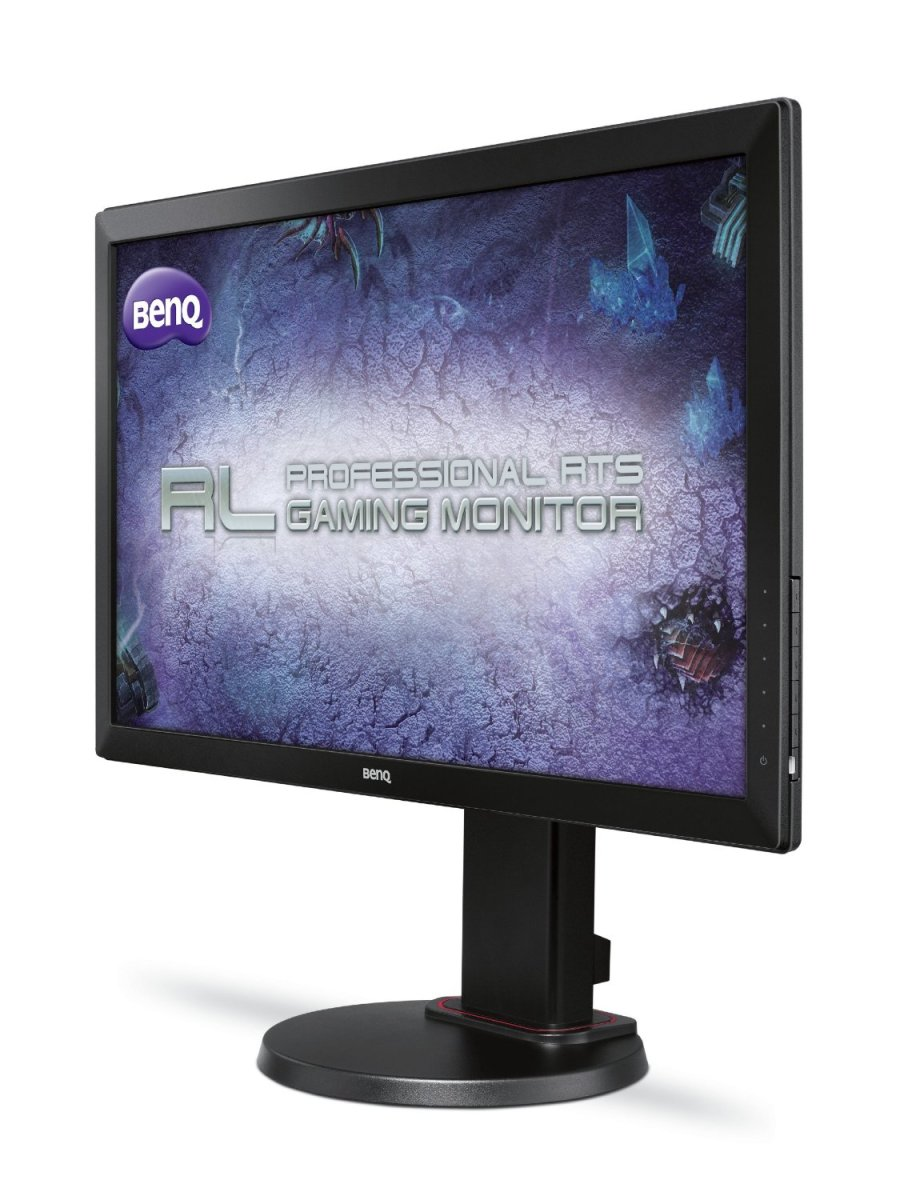The BenQ RL2450HT is used in professional PC gaming tournaments put on by the MLG.