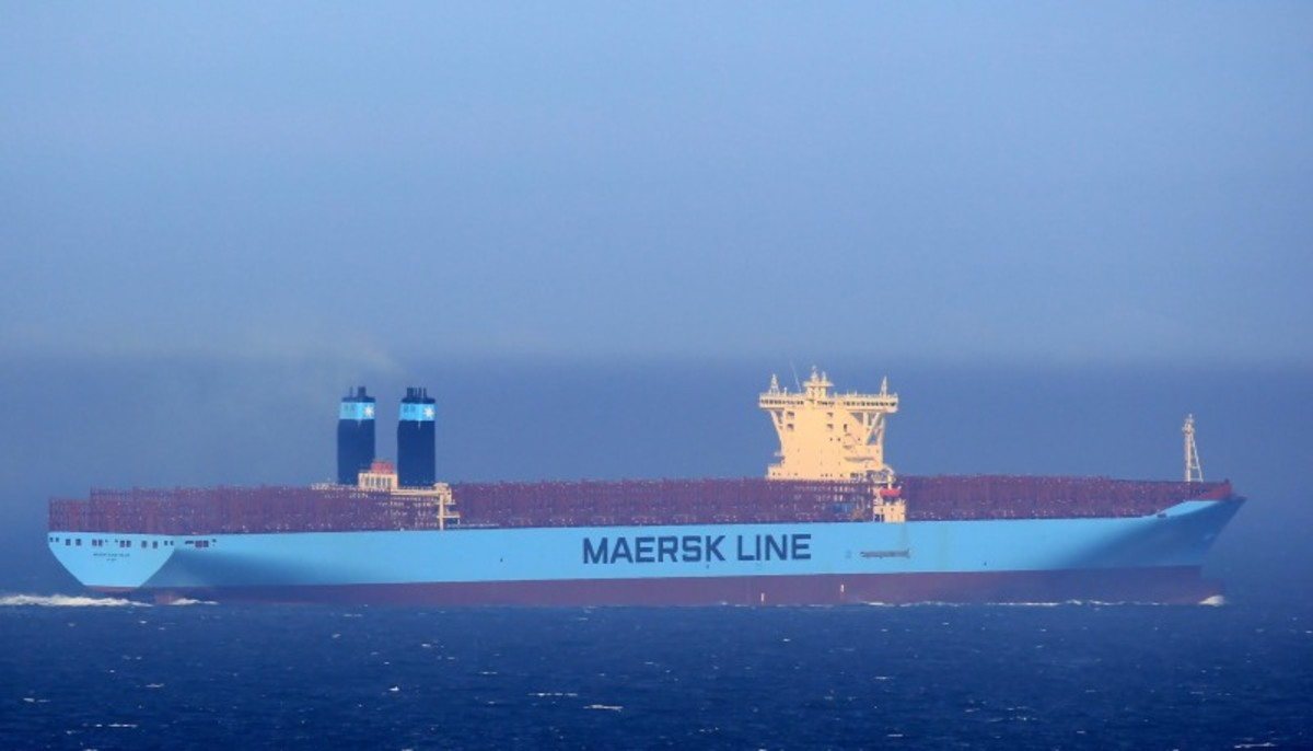 Maersk Mc-Kinney Moller. Source: shipspotting.com