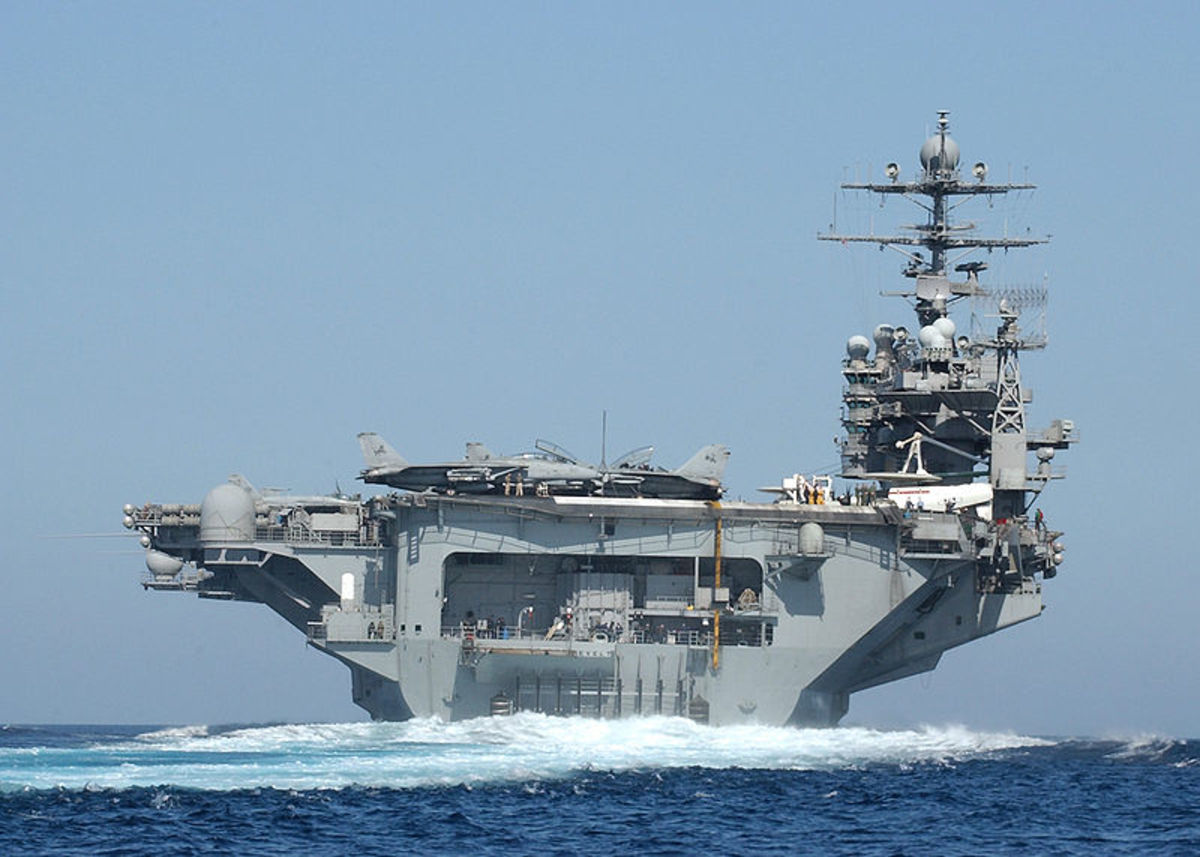 USS Theodore Roosevelt. Source: USN