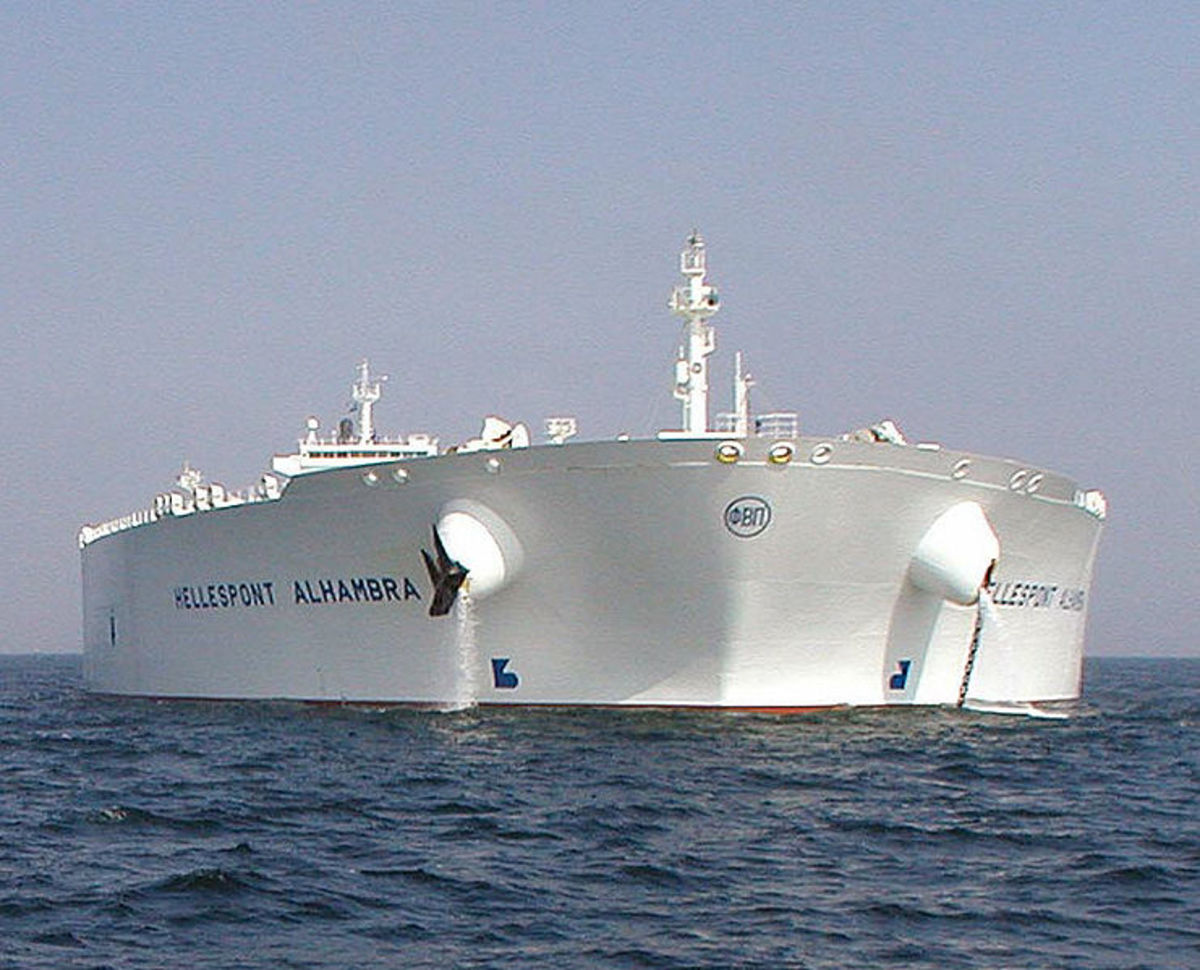 TI class supertanker. Now re-named TI Asia. Source: USCG