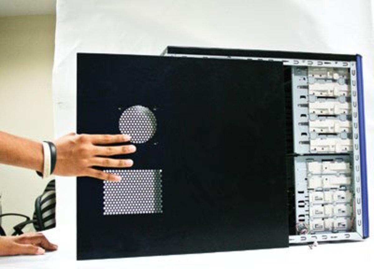 remove the CPU cabinet cover