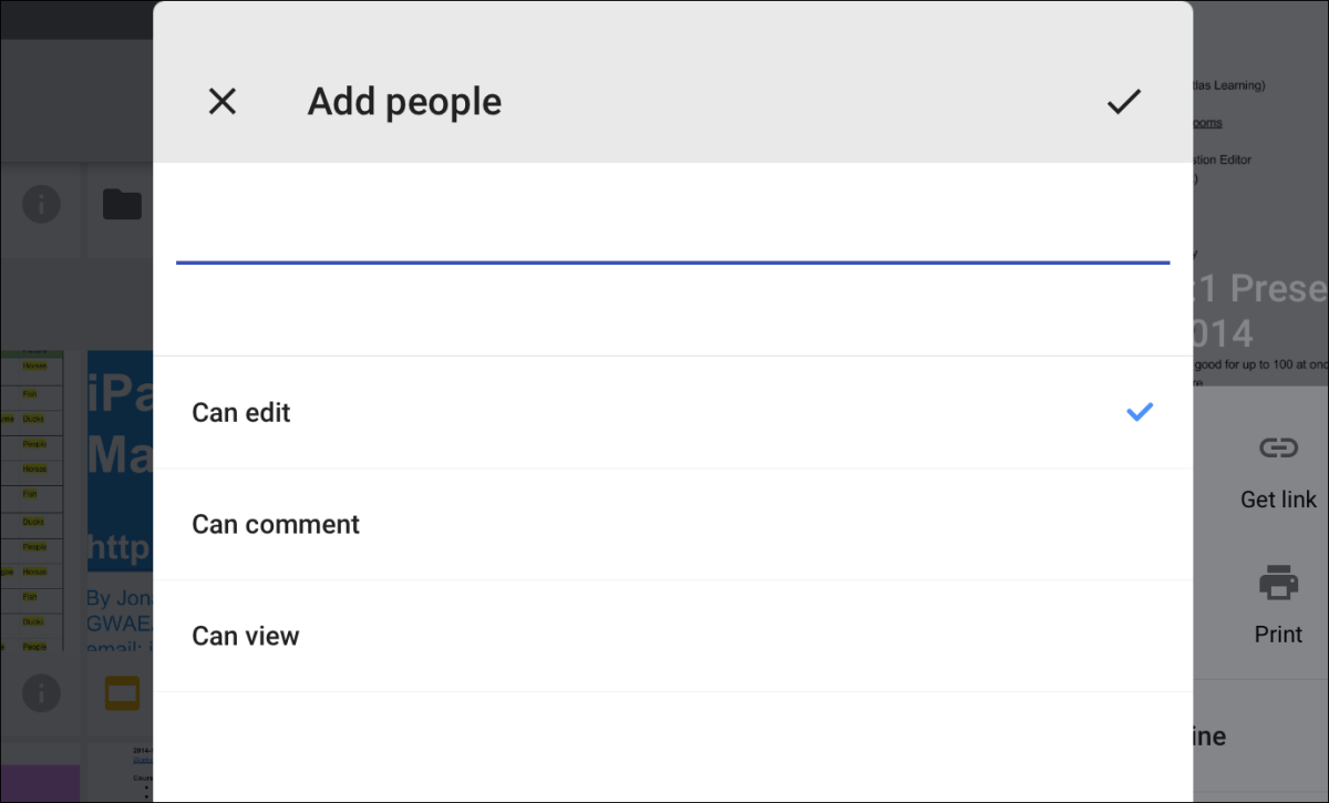 how to add a cover page on google drive
