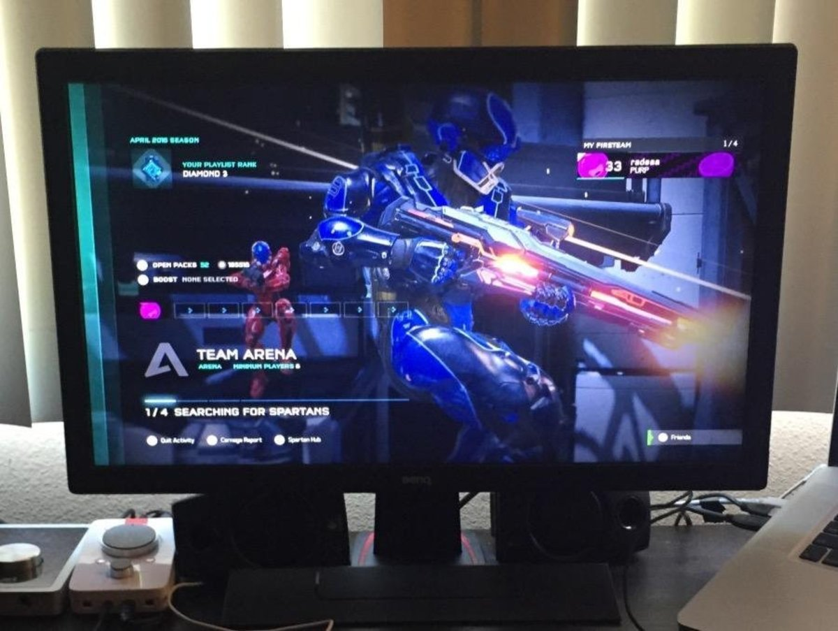 A closer look at the BenQ Gaming Monitor RL2455HM