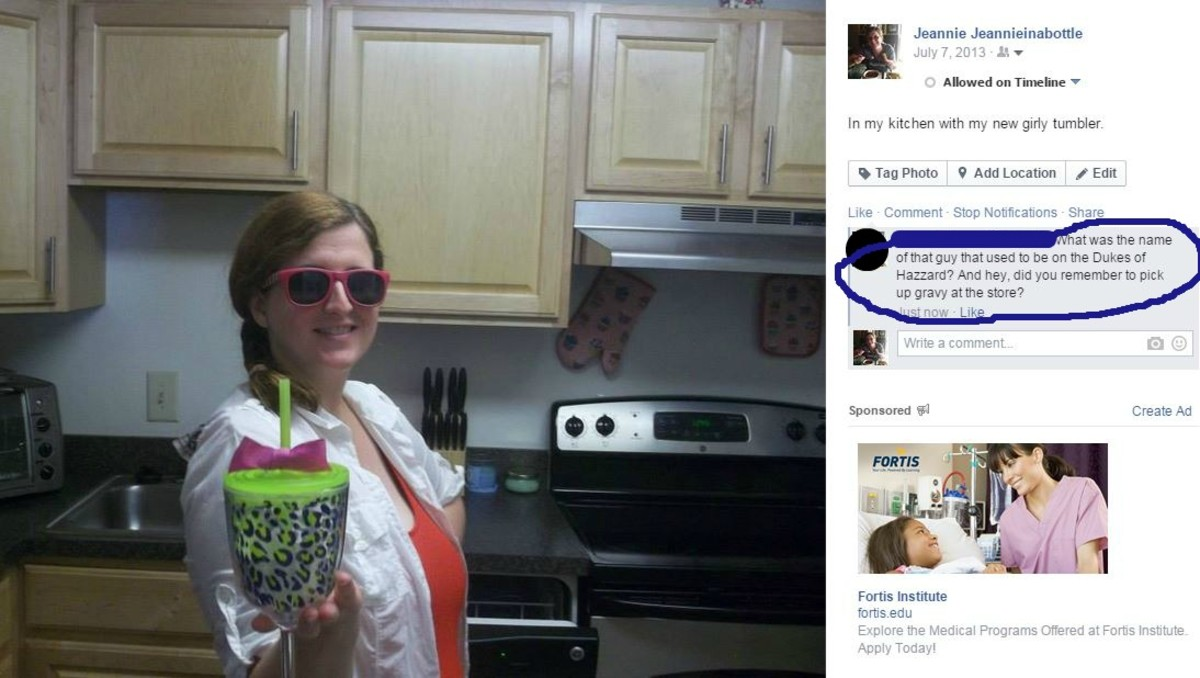 Example of a Bad Comment for a Photo