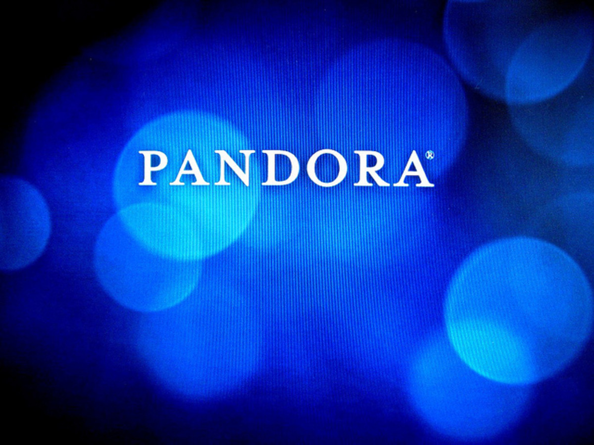 Pandora music streaming