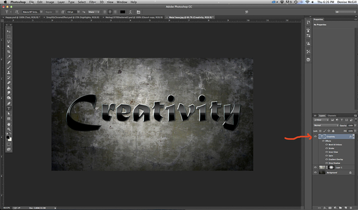 glossy-black-metal-text-effect-in-adobe-photoshop