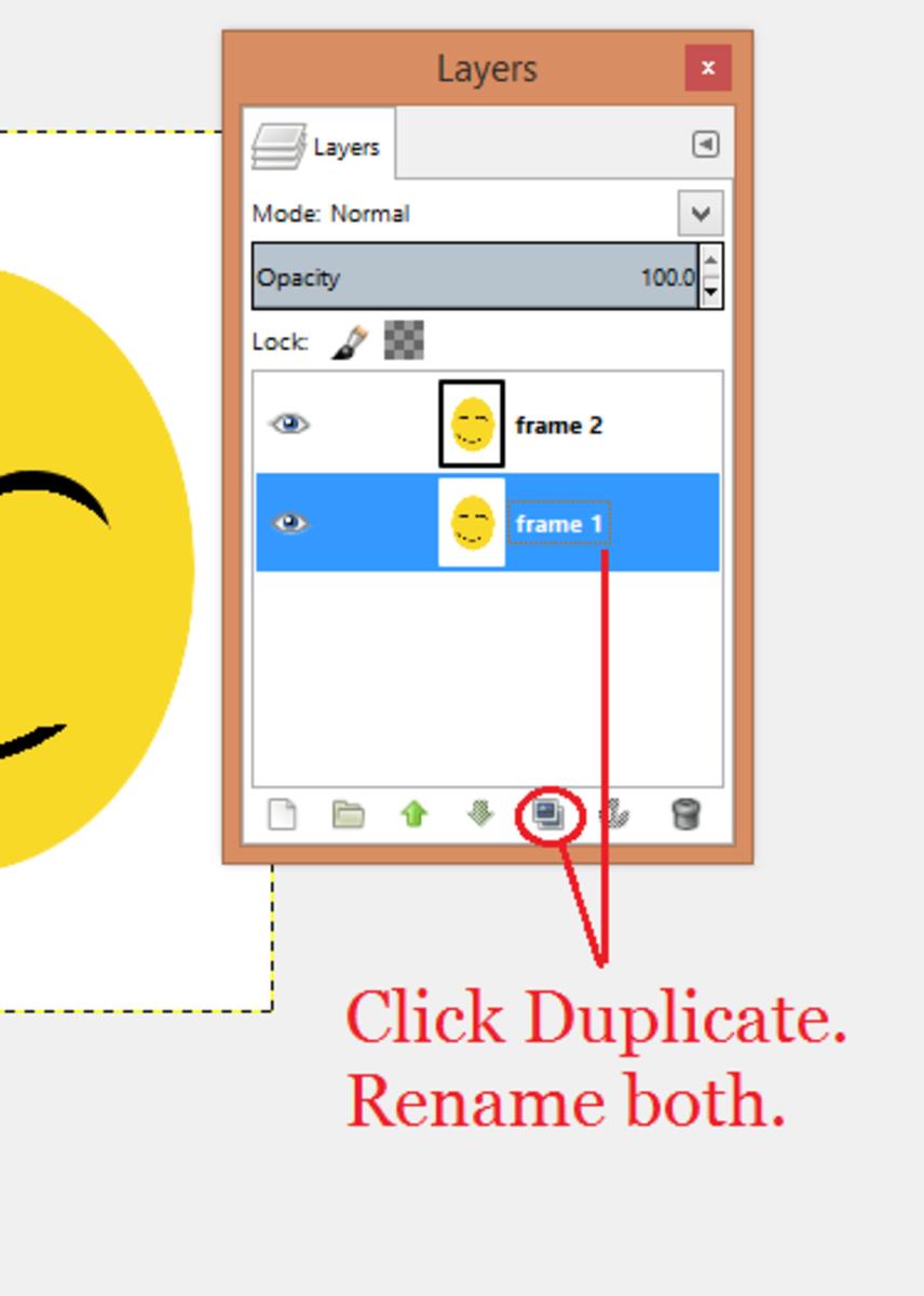 Create a duplicate.