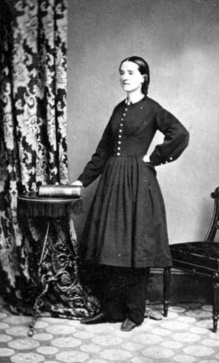Mary Walker after finishing medical school