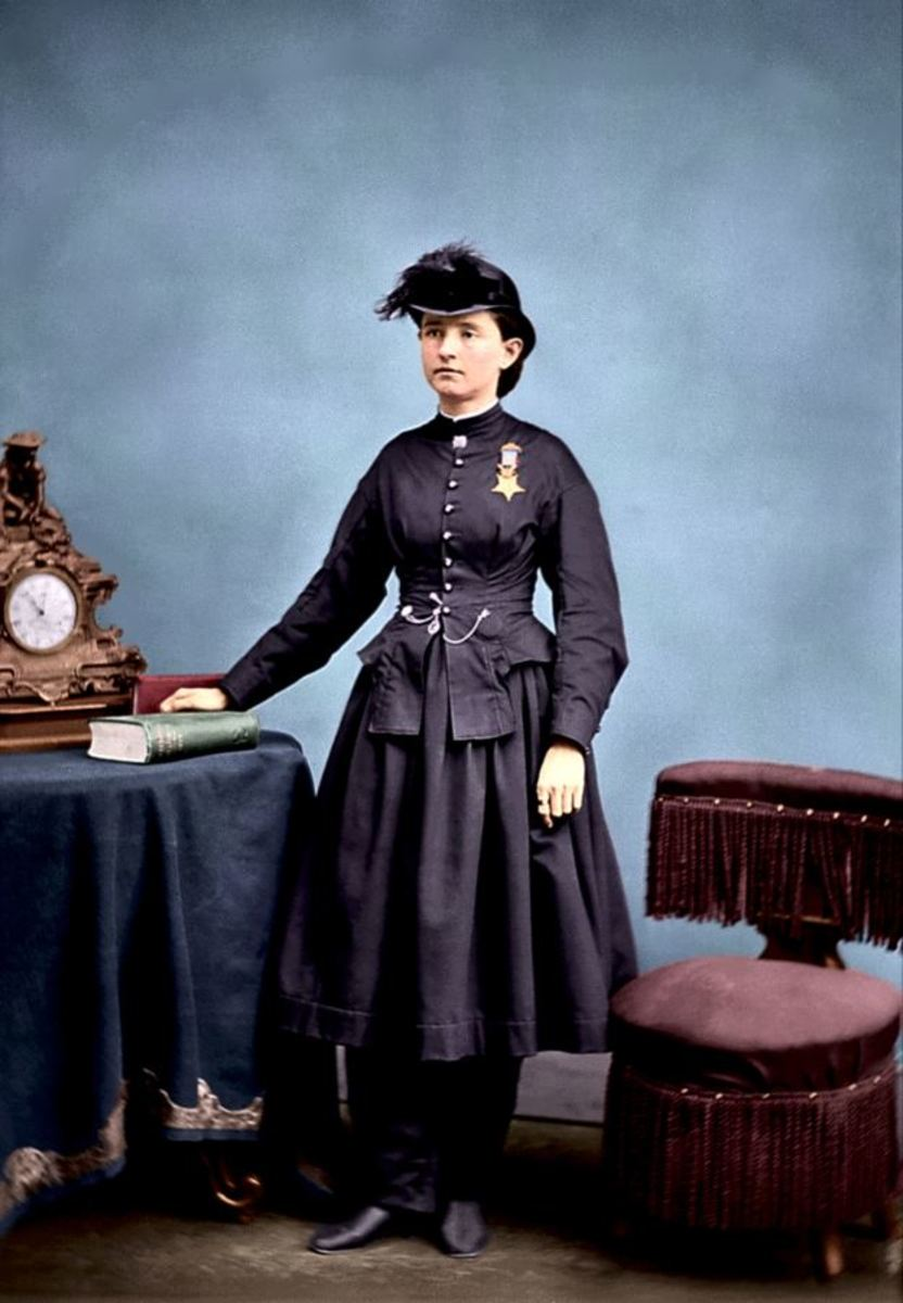 Mary Walker with Medal of Honor