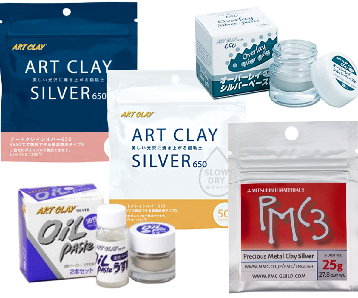 Individual product images courtesy of Art Clay World USA and Rio Grande