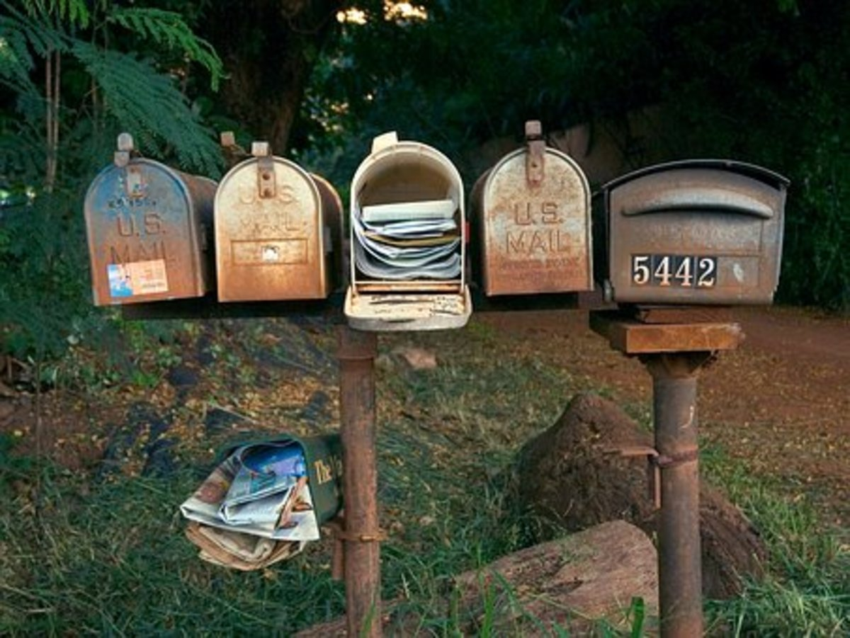 """Countryside Mailboxes: The """"In Box"""" of the 1950s"""