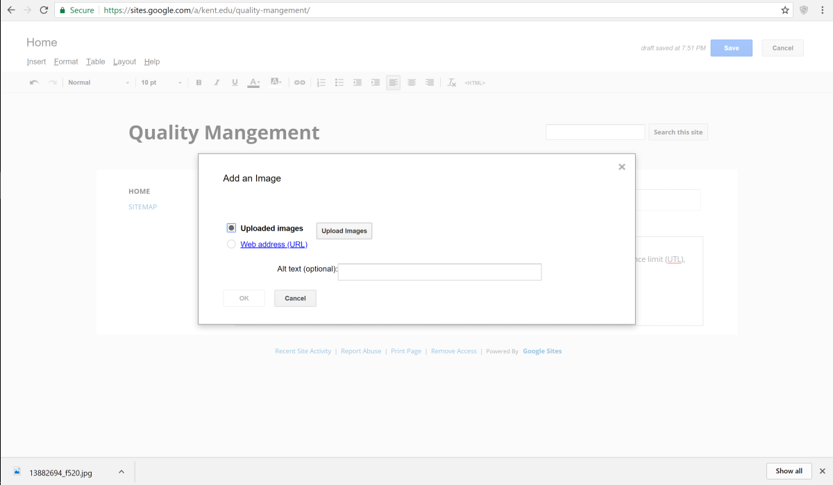 how-to-create-a-classic-google-site-to-display-content