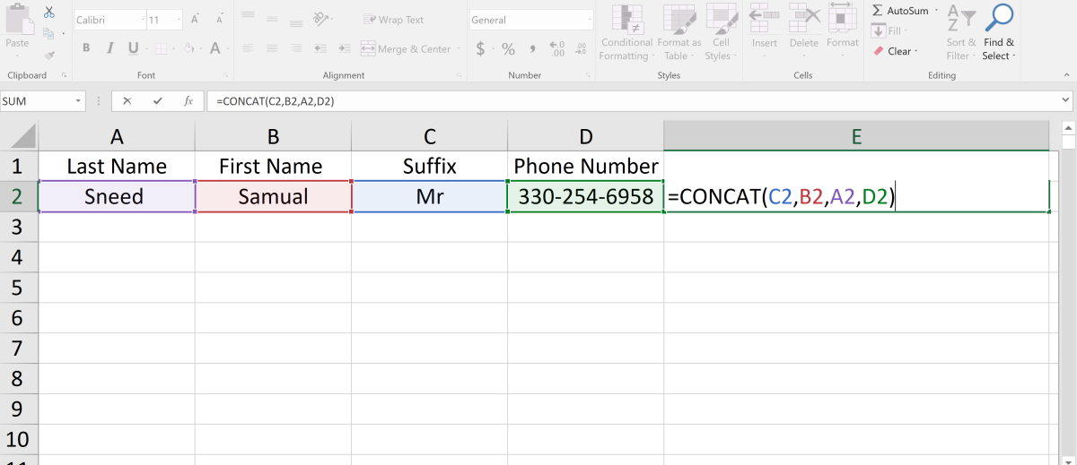 how-to-concatonate-data-in-ms-excel