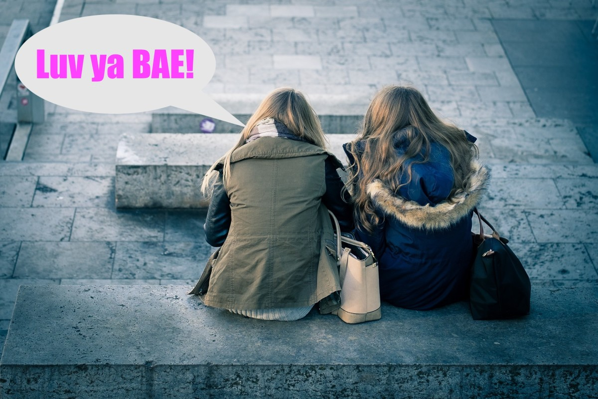 Best friends will often refer to each other as 'BAE,' which means Before Anyone Else.