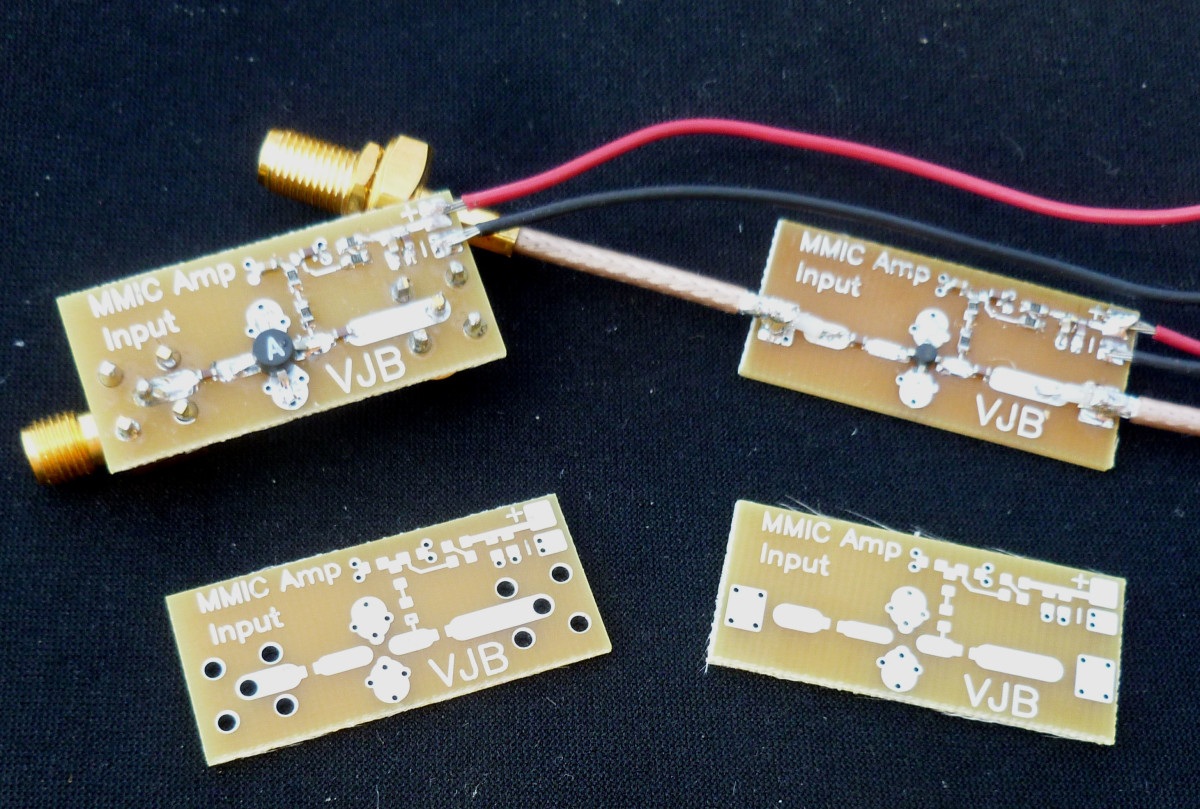 A variety of wired MMICs