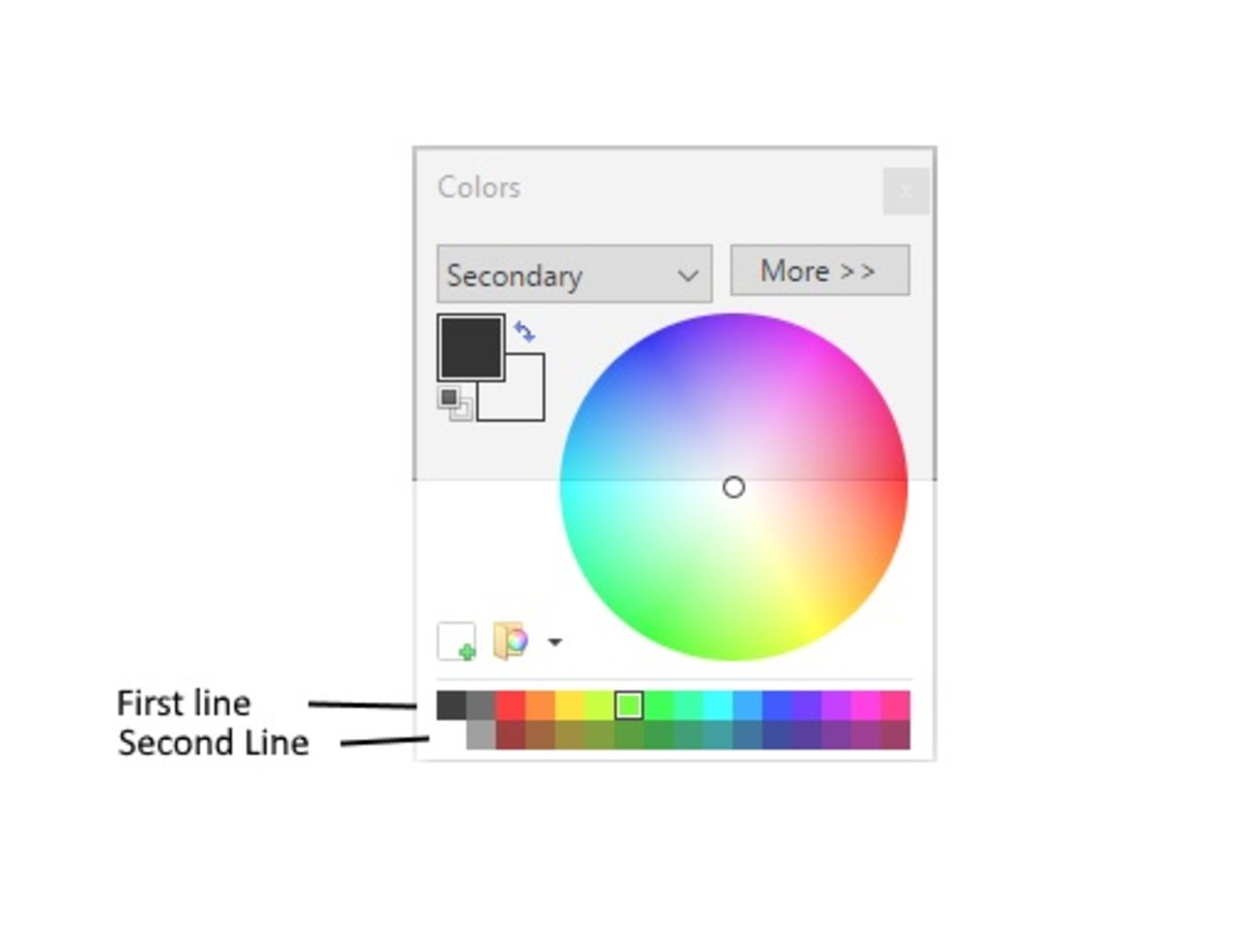 This is the color shortcut box on Paint.net.